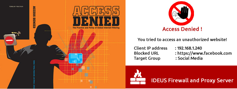 Ideus Firewall and proxy server